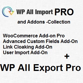 WP All Import Pro & Addons and WP All Export Pro