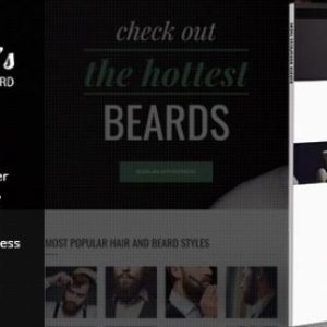 Barber - WordPress Theme for Barbers & Hair Salons