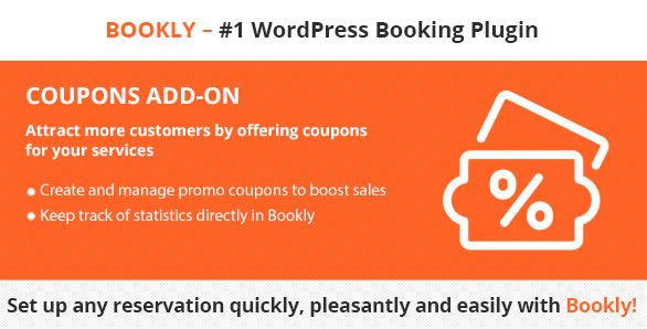 Bookly Coupons (Add-on)